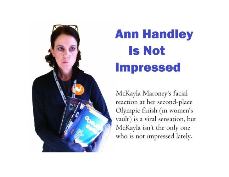 Ann Handley Is Not Impressed