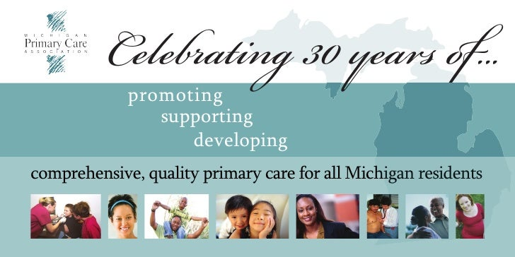 Celebrating 30 years of...              promoting                 supporting                    developing comprehensive, ...