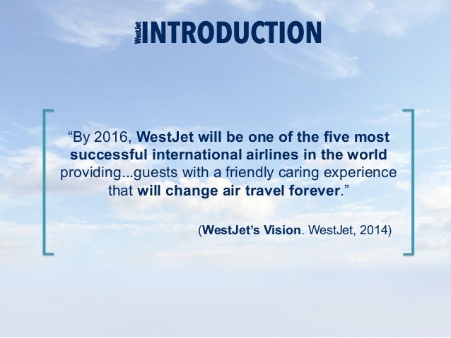 WestJet Airlines Ltd. SWOT Analysis