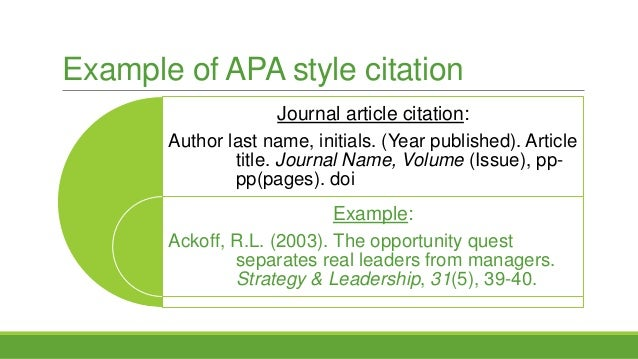 bibliography for journal articles