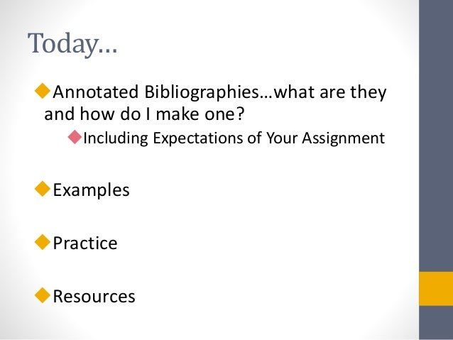 What are bibliographies