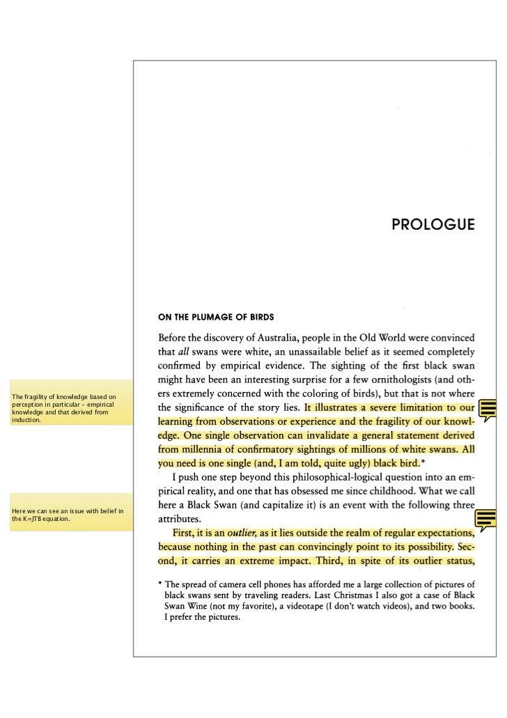 Black Swan Prologue Excerpt