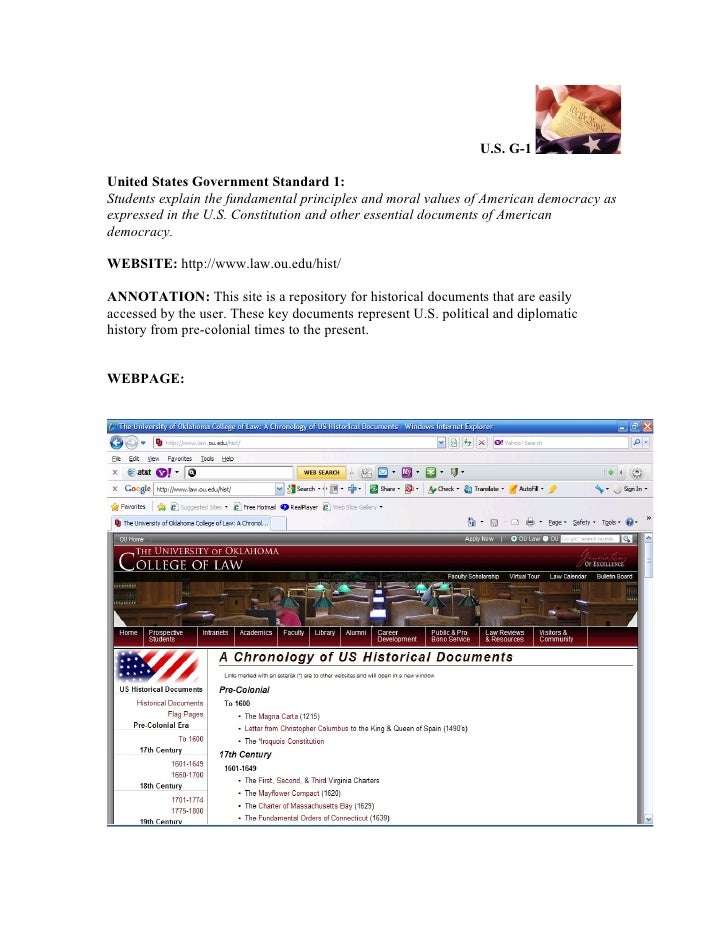 Annotated u.s. government technology resources