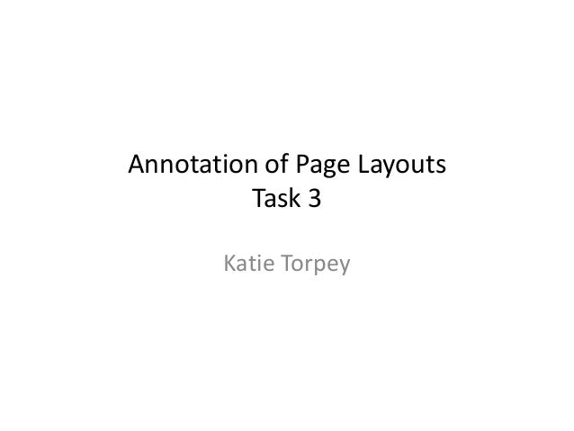 Katie Torpey Annotation of Page Layouts Task 3