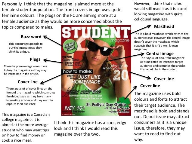 Media coursework?Identify two magazine covers...HELP!?