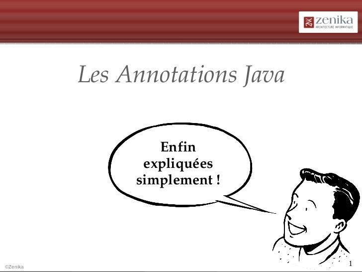 Annotations Java par Olivier Croisier