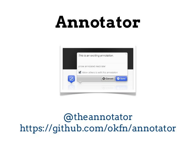 OKF Annotator technical overview