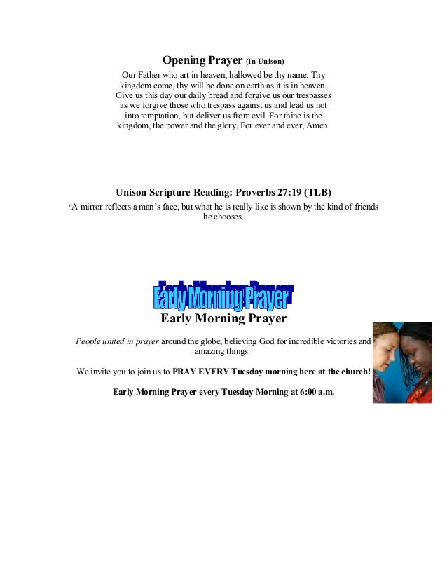Program and Announcements For February 1, 2014