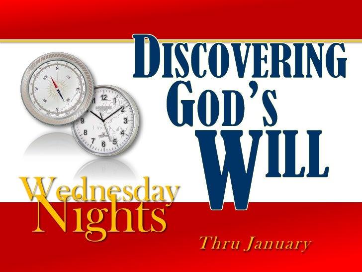 WednesdayNights      Thru January
