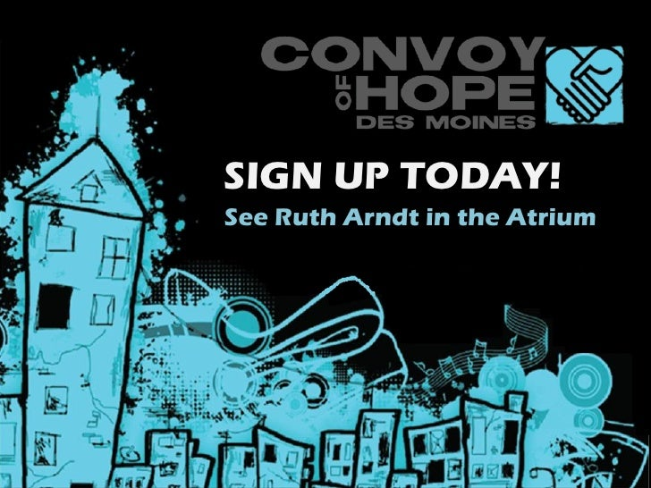 SIGN UP TODAY!See Ruth Arndt in the Atrium
