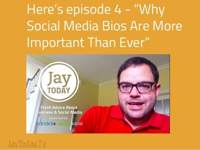 "Social Media Bios ""why Social Media Bios Are"