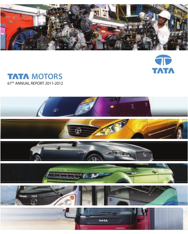 Annual report 11 12 for Tata motors financial statements