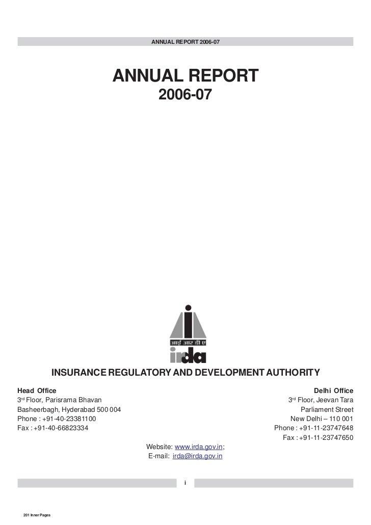ANNUAL REPORT 2006-07                                  ANNUAL REPORT                                        2006-07       ...