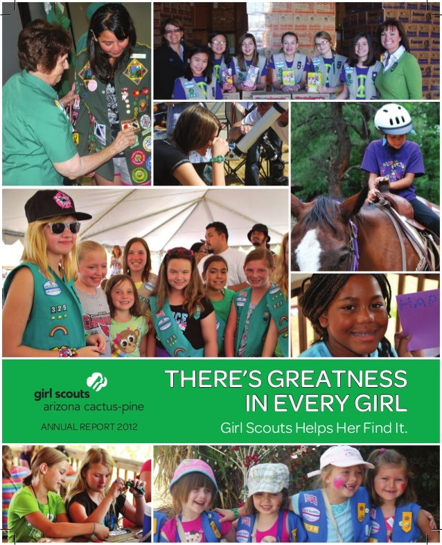 annual report 2012 girl scouts arizona cactus pine council