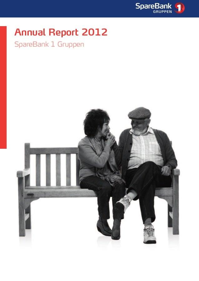Annual Report SpareBank 1 Gruppen 2012