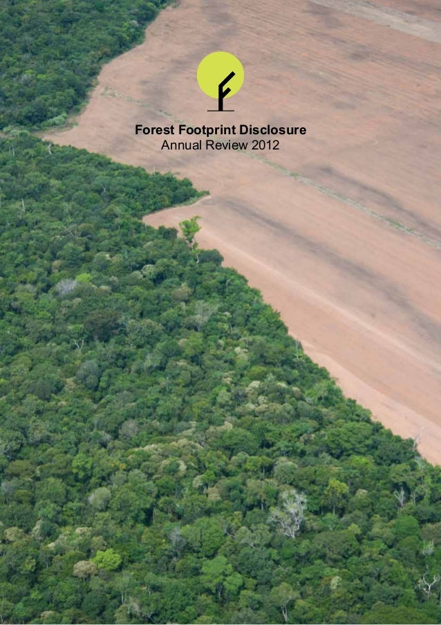 Forrest Footprint Disclosure - Annual review - 2012