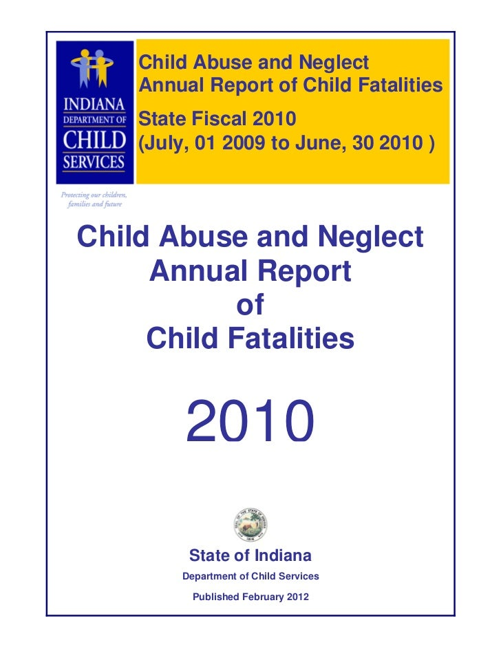 Annual child fatality for sfy 2010 1