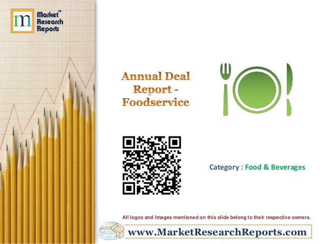 Annual Deal Report - Foodservice
