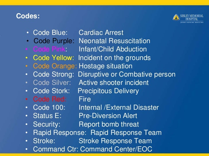 Code Blue Resuscitation Codes • Code Blue Cardiac