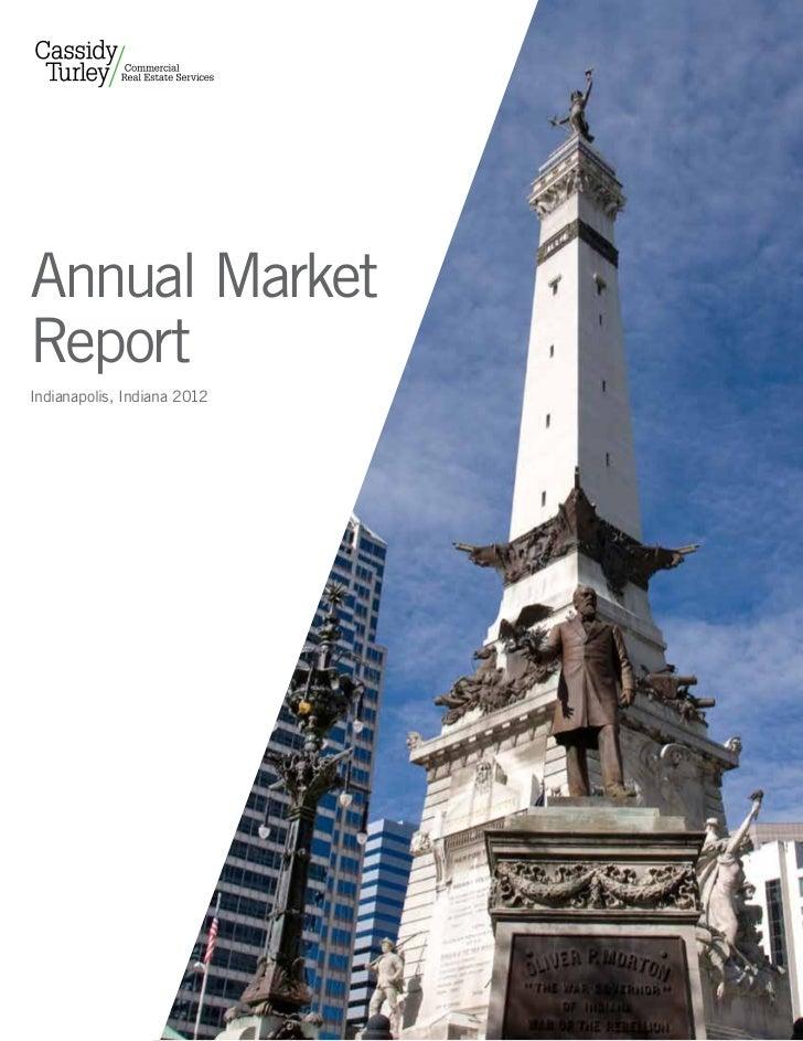 Annual MarketReportIndianapolis, Indiana 2012