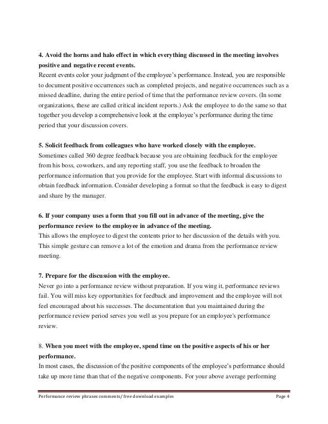 Writing employee performance review Essay Writing Service – Employee Performance Review Example