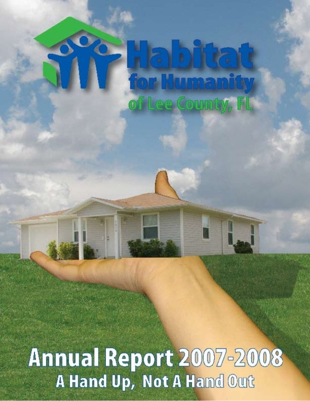 Habitat for Humanity Annual Report 2009