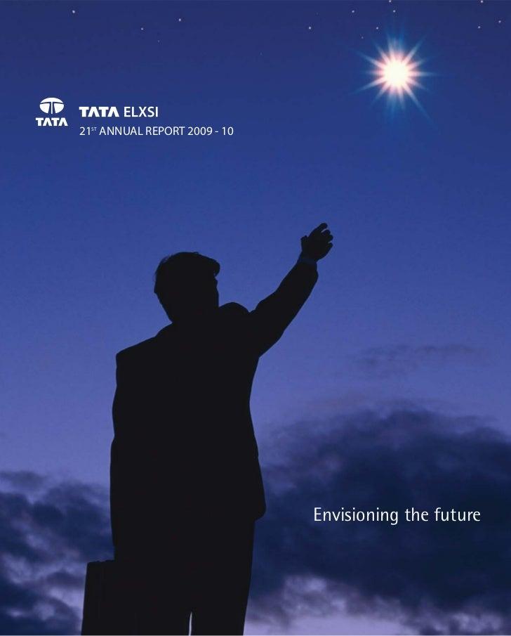 Tata Elxsi Annual Report 2010