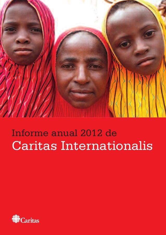 Informe anual 2012 de Caritas Internationalis