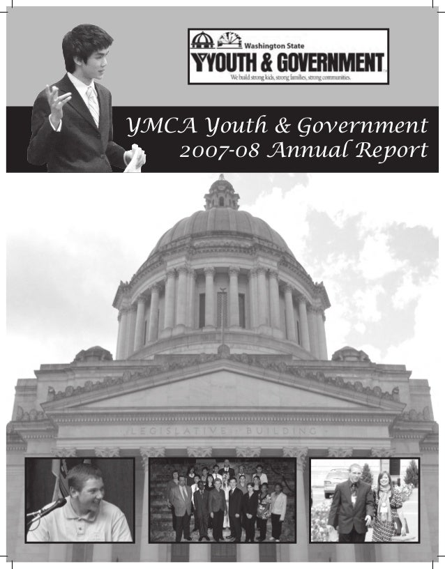 YMCA Youth & Government   2007-08 Annual Report
