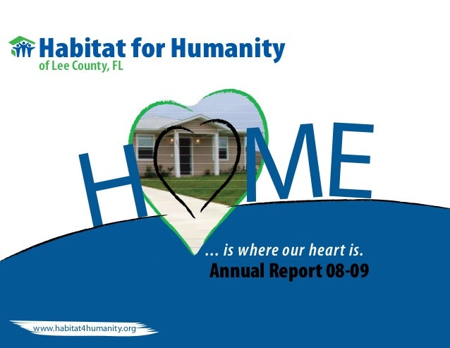 Habitat for Humanity Annual Report 2010
