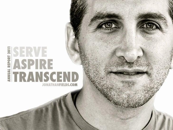 Annual report 2011: Serve   Aspire   Transcend