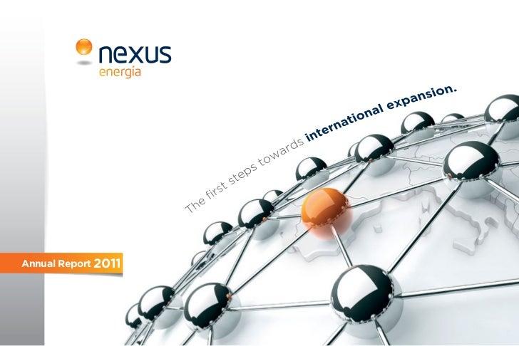 Nexus Energia 2011 Annual Report 2011