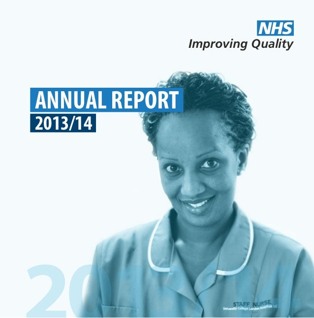 ANNUAL REPORT 2013/14 Improving Quality NHS