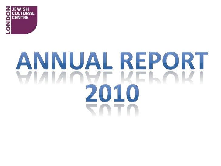 Annual report take 1