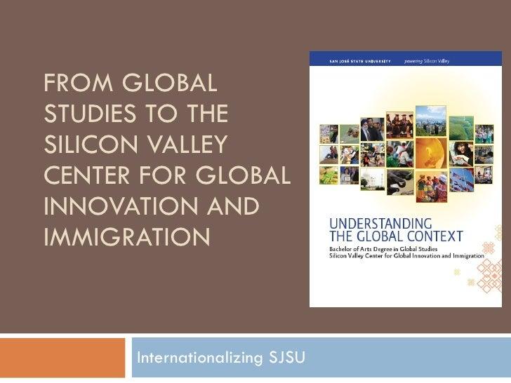 SJSU Global Studies 2009