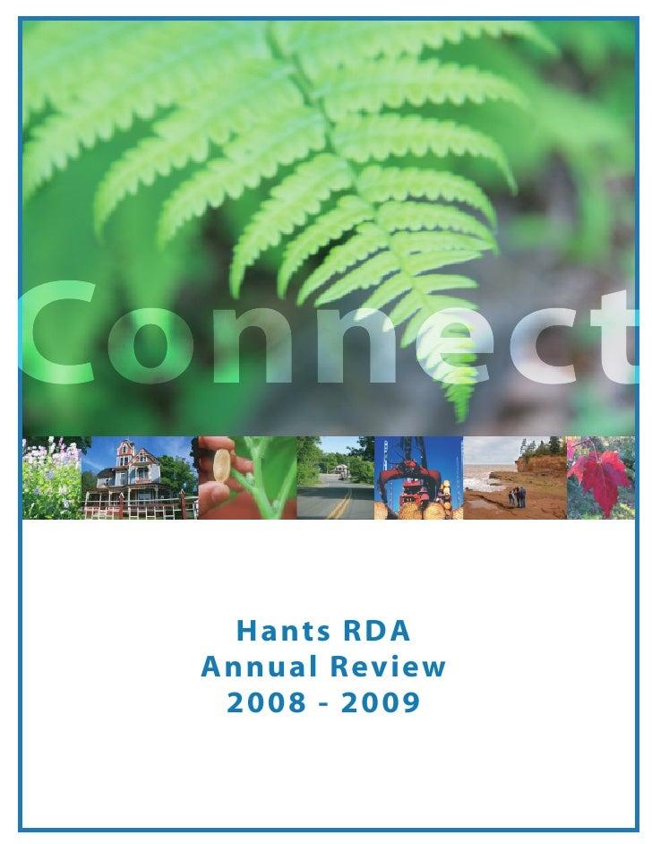 Hants RDA Annual Review 2008-2009