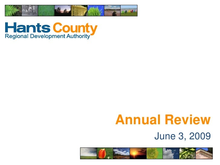 Annual Review<br />June 3, 2009<br />