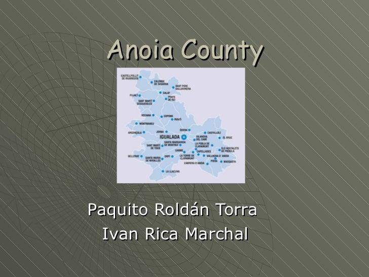 Anoia county 2010-11 grup 5