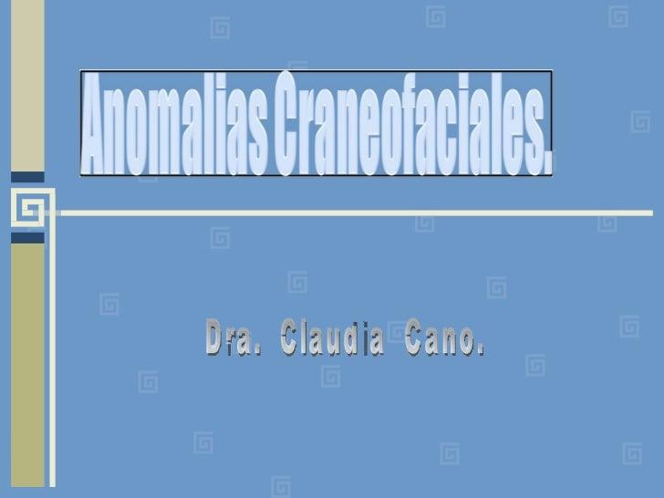 Dra.  Claudia  Cano.