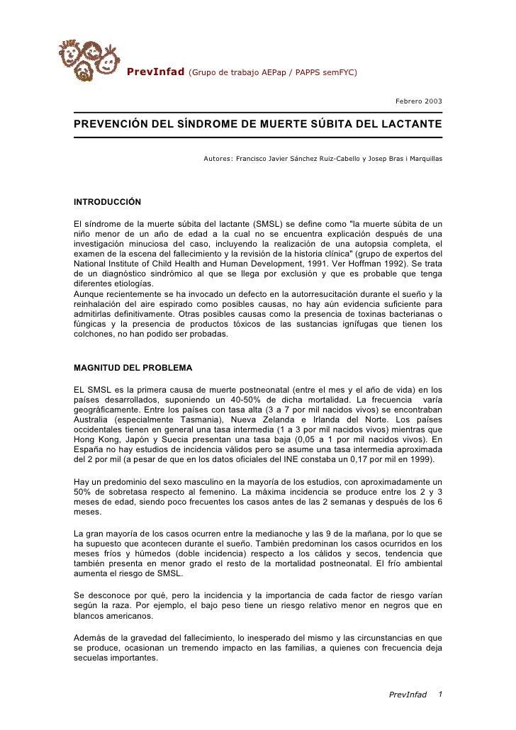 Anon   prevencion de la muerte subita del lactante