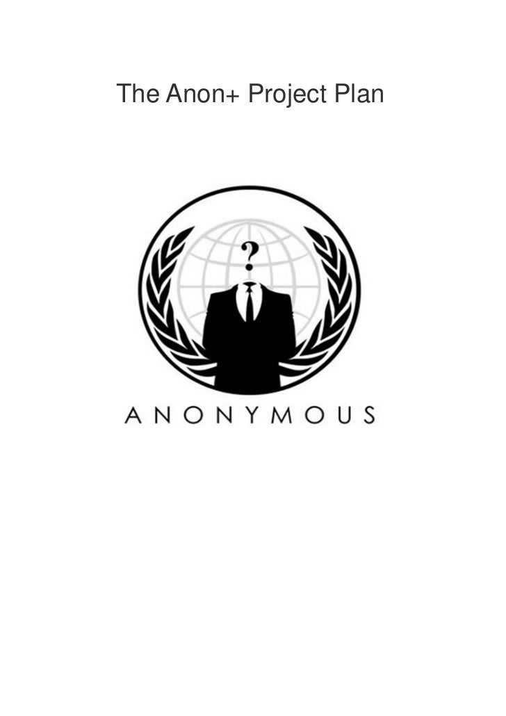 Anonplus project plan