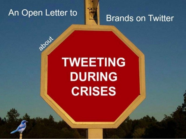 An Open Letter to Brands on Twitter About Tweeting During Crises