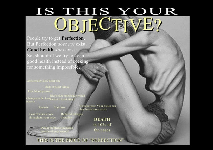 IS TH IS Y O UR                      OBJECTIVE? People try to get Perfection. But Perfection does not exist. Good health d...