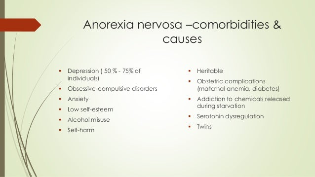 colleen and anorexia nervosa essay Anorexia nervosa is a severe eating disorder that mainly affects teenage girls, however, it can affect men and women of all ages there are many factors th.