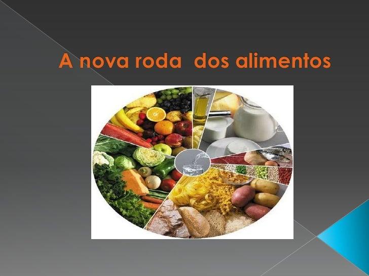 A nova roda  dos alimentos<br />