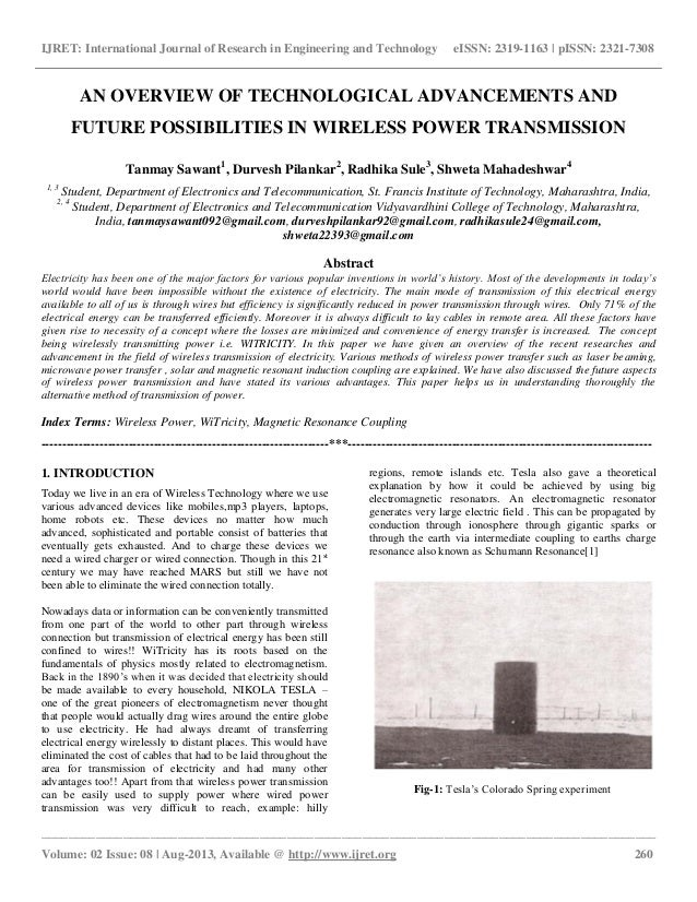 """overview of wireless charging essay Global standard of wireless charging: qi is the universal interface standard for wireless charging it is the chinese word for """"air energy flow"""" or """"spiritual energy flow"""" and pronounced as """"chee."""