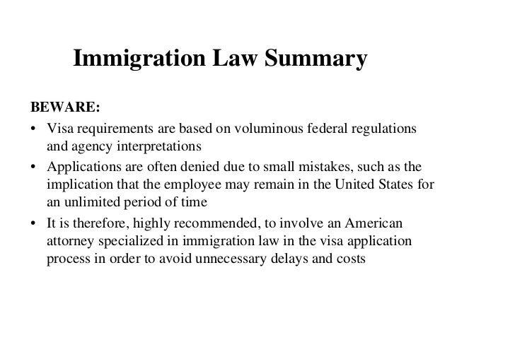immigration definition essay