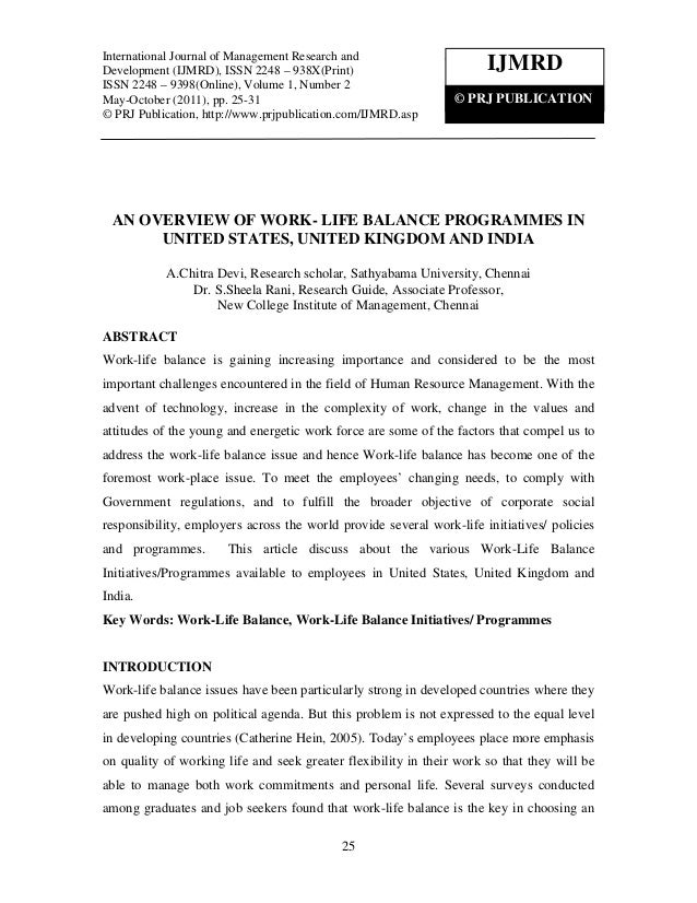 International Journal of Management Research Development (IJMRD), ISSN 2248 – 938X(Print)International Journal of Manageme...