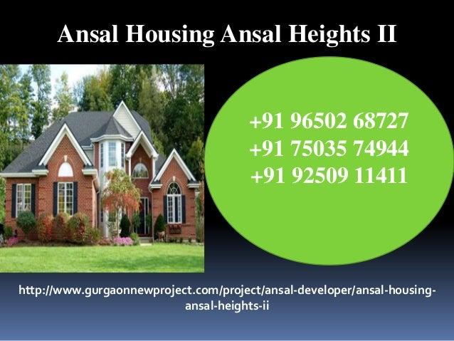 Ansal Housing Ansal Heights II