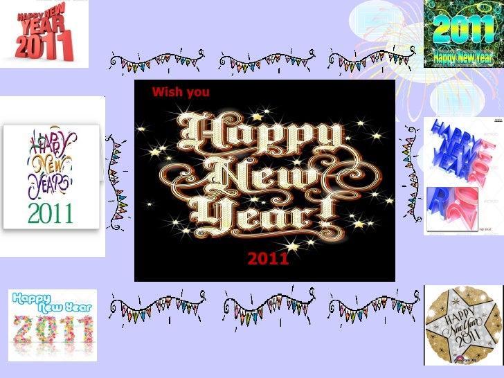 2011 Wish you